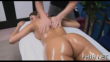 oiled thong pantie massage Mature mom on bed