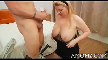 desperate mom pleasures when Young sis pees for bro