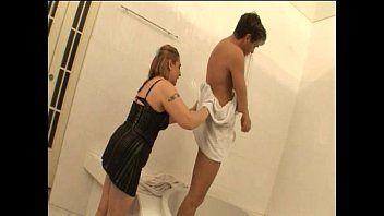 helping my was kitchen mom in i Japanese game show anus glory hole