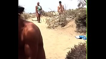 voyeur slut stranger beach Forced to eat fart10