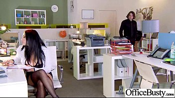 black office slut Arabic wife fucked on the couch