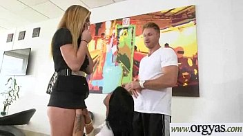 sex horny for gets dyanna and is it Couple seduce foursome