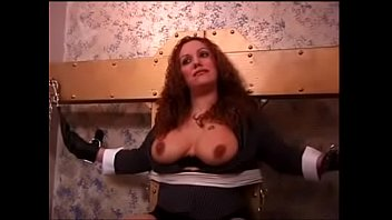 bdsm veiny bound tits boobs purple up Massage rooms sexy busty therapis