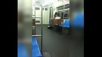 exibizionist in metro Feet licking pov
