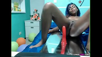 on hot sitting ebony dildo Mom son dulce com