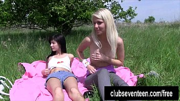 outdoors do plump lesbians it Anorexic strap on anal