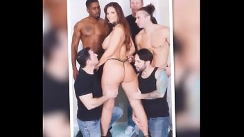 gangbang carerra asia Step daughter and friend