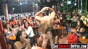 party strippers used mouth Shemale creampie home