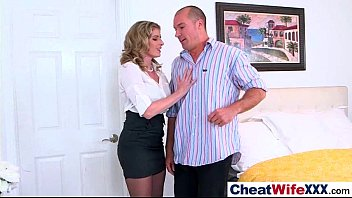 by caught wife cheating threesome husband British television x angel long3