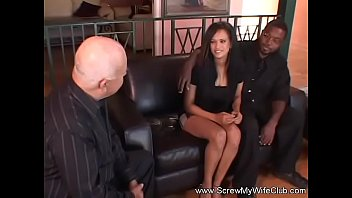 black gets white in bmw miss bambi Nancy ho first video