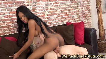 black a teen rides white pecker babe She cries for them to stop