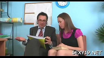 teacher blond drilled the on table My wife cuckold with friends homemade