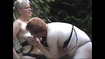 piss lesbian mature Clothed ladies make love