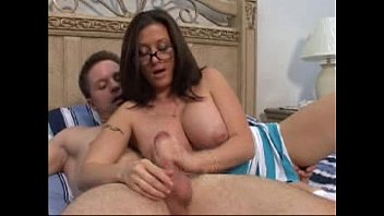 milf aged handjob table I want fuck your mom in front you