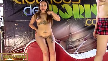 stage nude show2 bhojpuri Mom daughter friends anal double