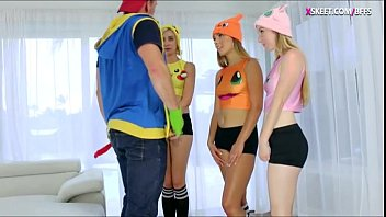 three and russian teens ever luckiest guy Amber lynn creanpie