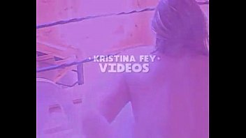 xxx kristina video Shemale babe solo with toys till cumshot