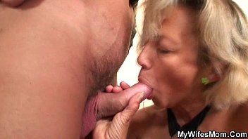 mom blackmail son innocent Lady g string