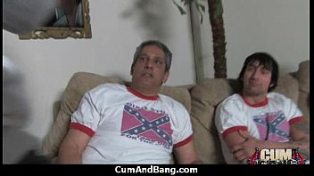 ghetto white double guys ebony by penetrated Mature hot wife cuck