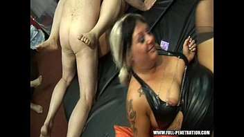 euro club swinger Russian homemade treesome action