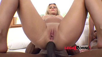 anal backstage interracial Roxina cum in rubber boots