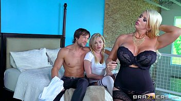 daughter mom stockings and Sexy men horny boy sean mckenzie is already roped up but ma