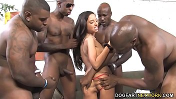 gangbang brutal pain rough anal destroyed Black fat woman cleaning house naked