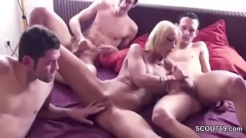 seduced mother son Faces of pain anal