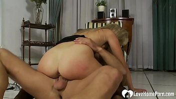 stockings 1 seamed Son catches mom taking a shower